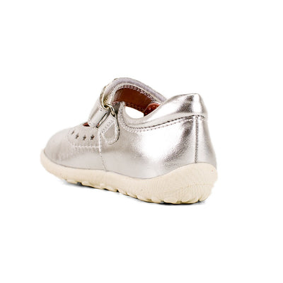SUREFIT Alannah Silver Leather Mary Janes