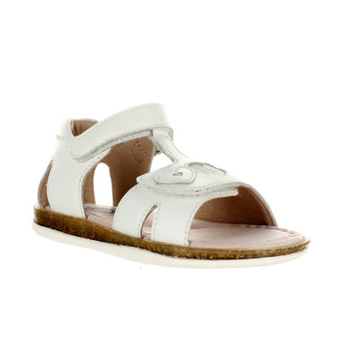 SUREFIT Victoria White Toddler Girls Sandals