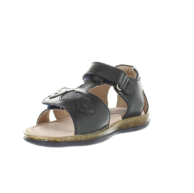 SUREFIT Victoria Navy Toddler Girls Sandals