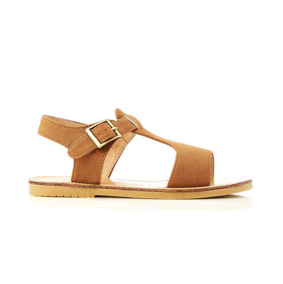 WALNUT MELBOURNE Racer Tan Sandals