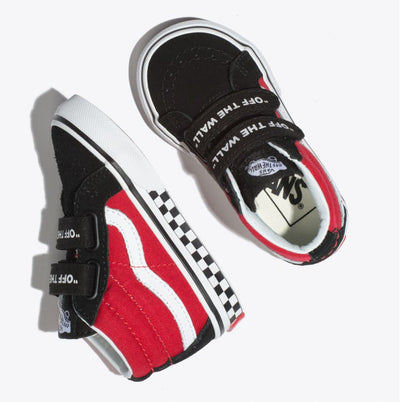VANS Sk8-Mid Reissue V Logo Pop Toddler
