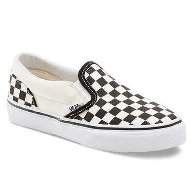VANS CSO Black & White Checkerboard Kids