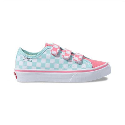 VANS Style 23V Strawberry Checkerboard Kids
