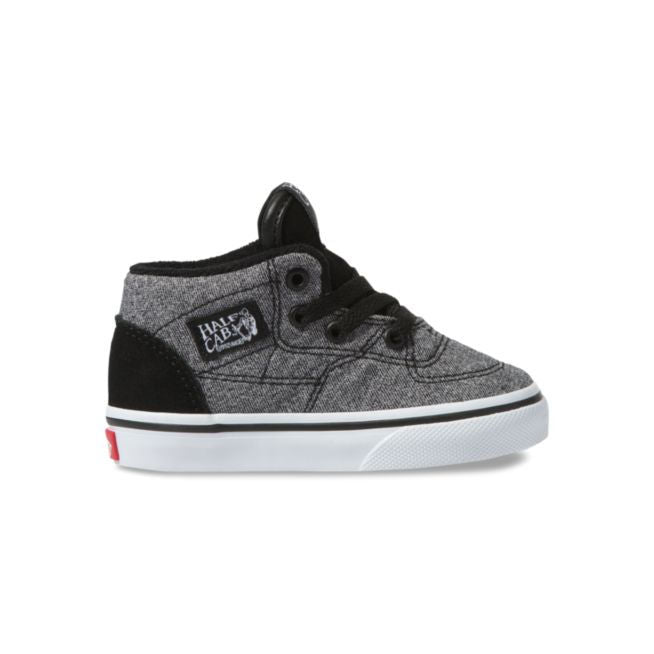 a24dbe2ad8 VANS Half Cab Suede & Suiting Toddler