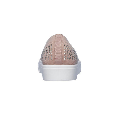 SKECHERS Womens Poppy Studded Affair Nude