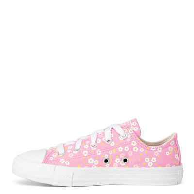 CONVERSE Low Top Floral Pink Girls