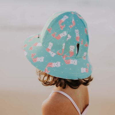 BEDHEAD Merkitty Ponytail Girls Swim Hat