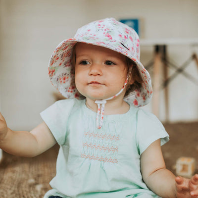 BEDHEAD Grace Floral Baby & Toddler Bucket Hat