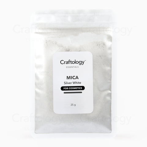 Mica - Silver White - Craftology Essentials - Philippines