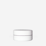 Plastic Cream Jar (Round, White) - Craftology Essentials - Philippines