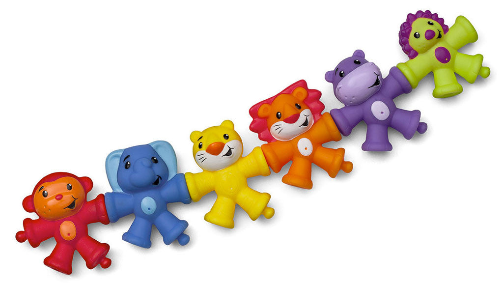 Infantino Snap and Pop Pals
