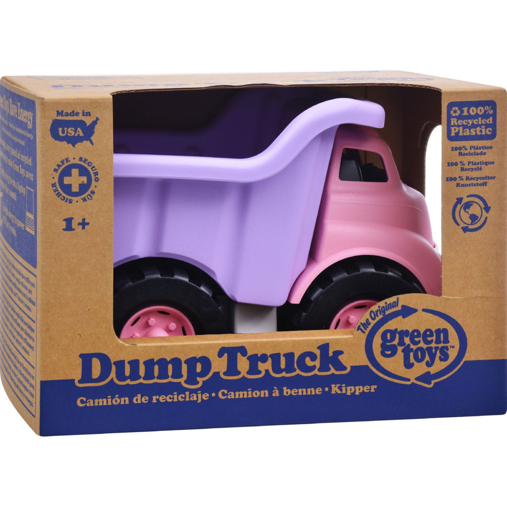 Green Toys Dump Truck Pink & Purple 2