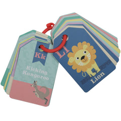 Tiger Tribe Flash Cards Animal ABC 3