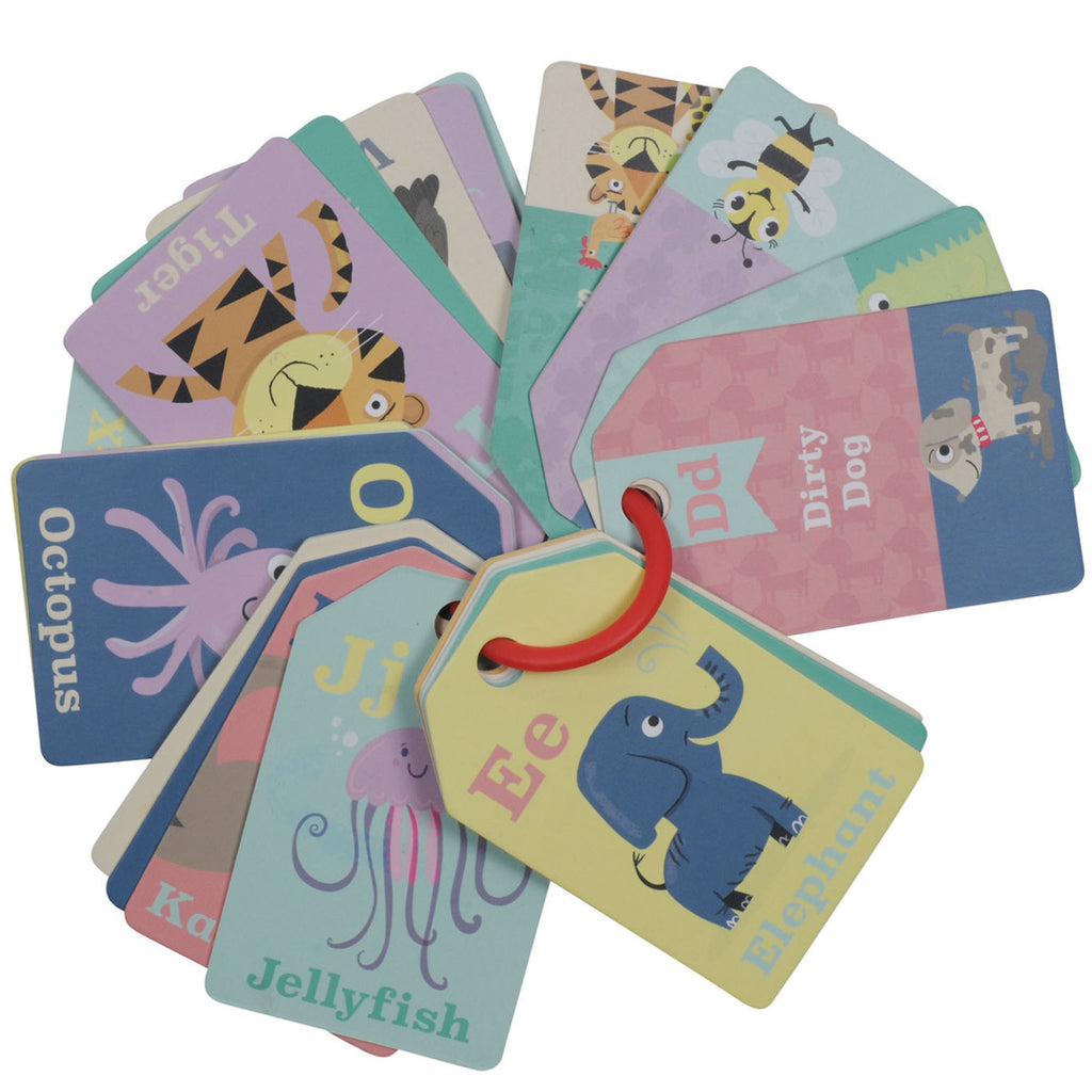 Tiger Tribe Flash Cards Animal ABC 1