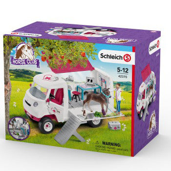Schleich Mobile Vet with Hanoverian Foal 2