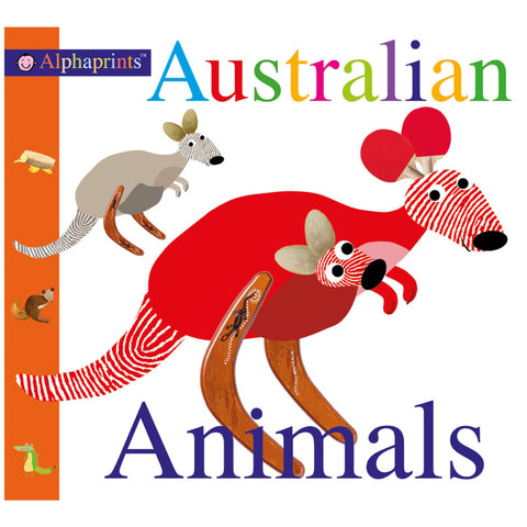 Alphaprints Australian Animals Board Book
