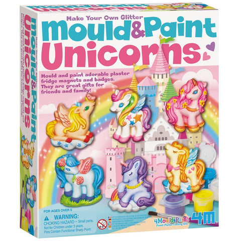 4M Mould and Paint Unicorns - K and K Creative Toys