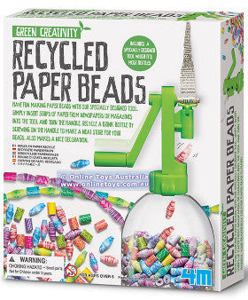 4M Recycled Paper Beads - K and K Creative Toys
