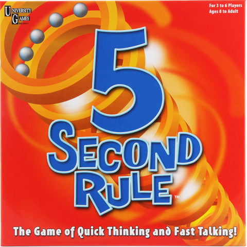 U Games 5 Second Rule Game