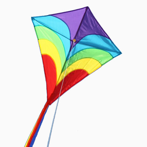 Windspeed Waves Diamond Kite