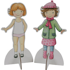 Tiger Tribe Paper Dolls Kit 3