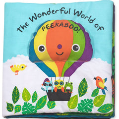 K's Kids The Wonderful World of Peekaboo Cloth Book