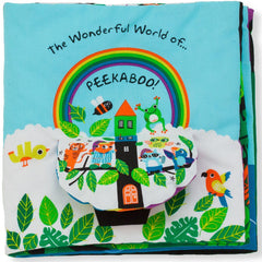 K's Kids The Wonderful World of Peekaboo Cloth Book 2