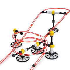 Quercetti Roller Coaster Mini Rail Marble Run 150pc 1