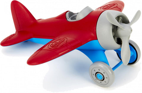Green Toys Airplane Red - K and K Creative Toys