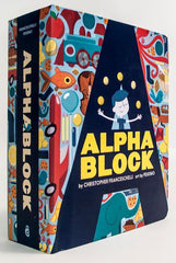 Alpha Block Book - K and K Creative Toys