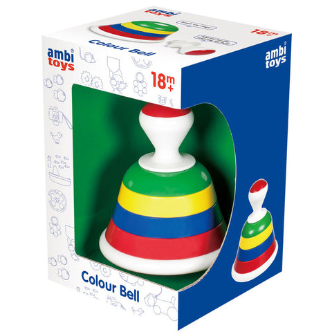 Ambi Colour Bell Stack and Ring - K and K Creative Toys