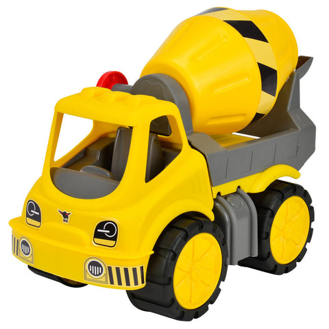 BIG Truck Cement Mixer Power Worker - K and K Creative Toys