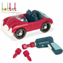 Battat Take Apart Roadster Red