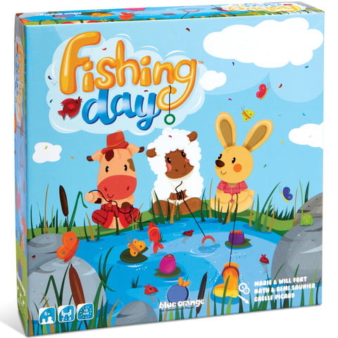 Blue Orange Fishing Day Game