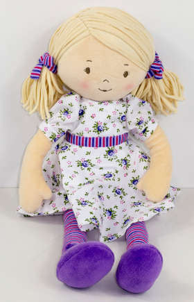 Bonnika Rag Doll- Dame Peggy