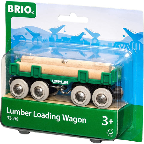 Brio Lumber Loading Wagon 4pc