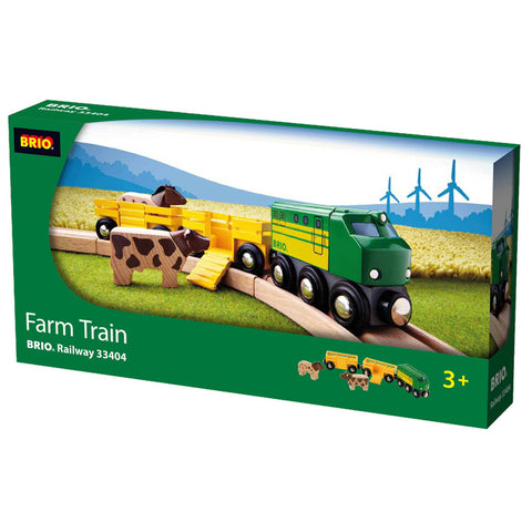 Brio Farm Train Wooden