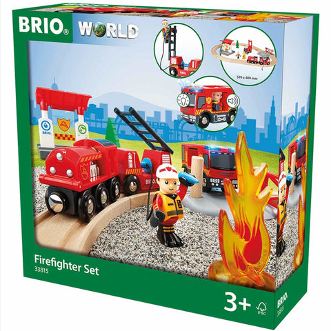 Brio Fire Fighter Train Set