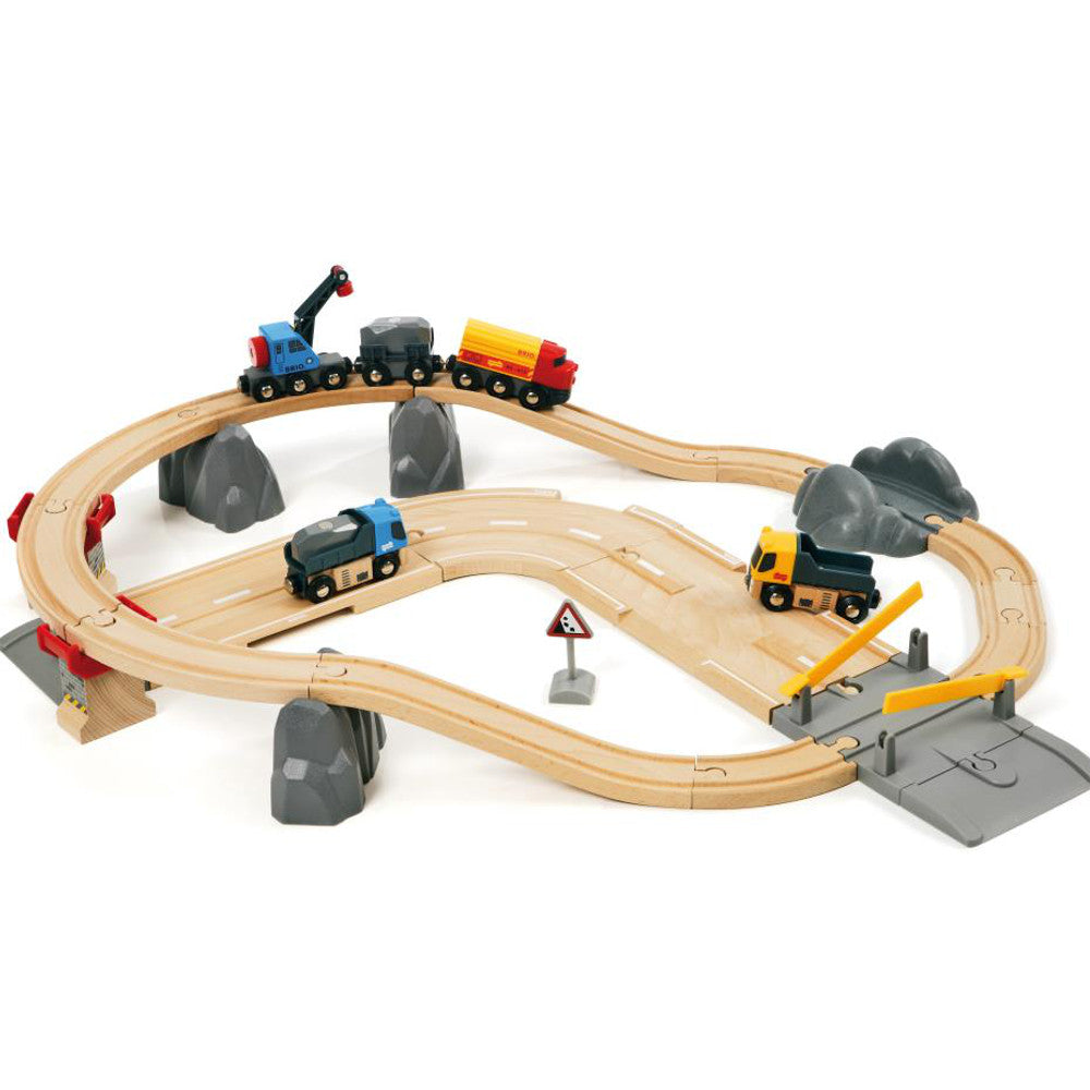 Brio Rail & Road Loading Set 2