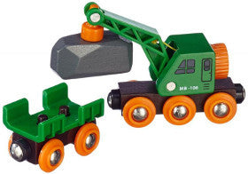 Brio Train Clever Crane Wagon - K and K Creative Toys