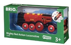 Brio Train Mighty Red Action Locomotive Battery Powered
