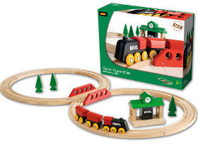Brio Train Set Classic Figure 8 Set - K and K Creative Toys