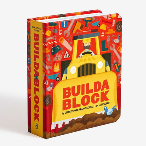 Build A Block  Board Book