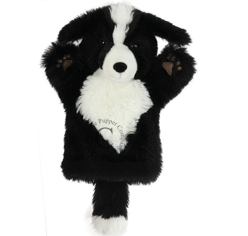 Puppet Company Hand Puppet Dog Border Collie