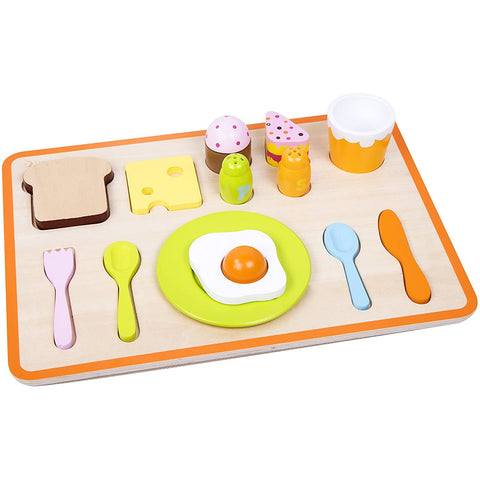 Classic World Breakfast Tray 16pc