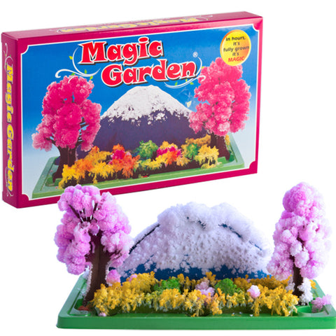 Crystal Growing Magic Garden