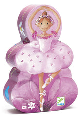 Djeco Puzzle Ballerina Silhouette 36pcs - K and K Creative Toys