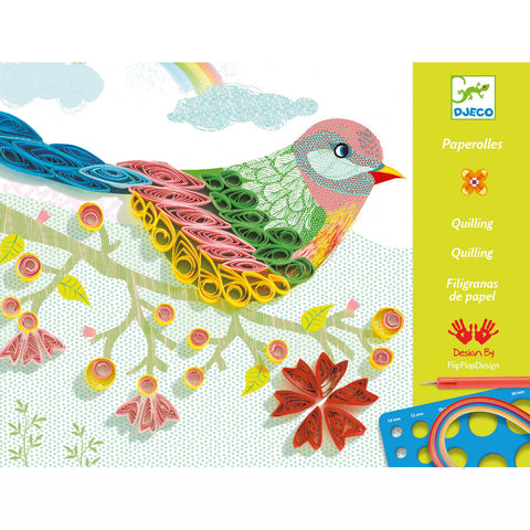 Djeco Quilling Spiral Seasons Kit