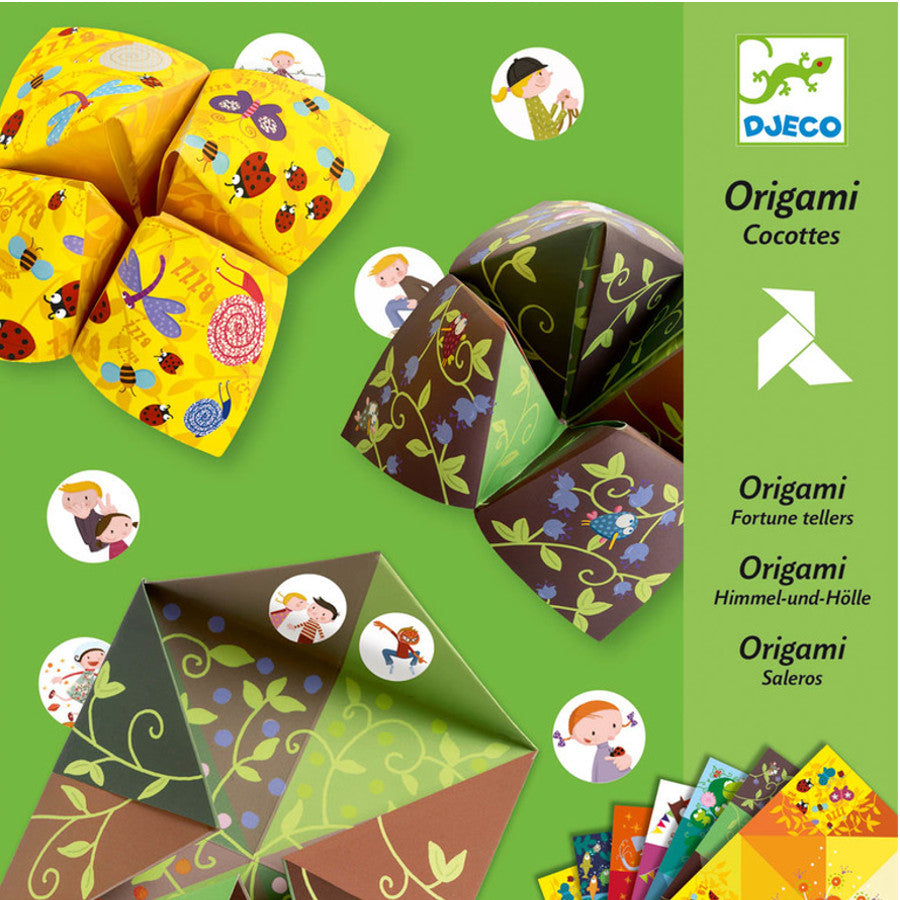 Djeco Origami Bird Game - K and K Creative Toys