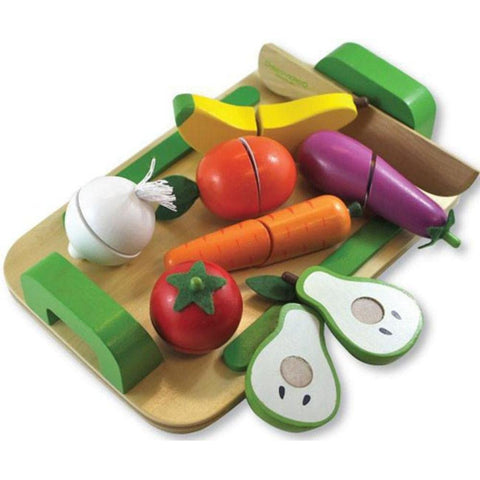 Discoveroo Fruit and Vegetable Set Wooden